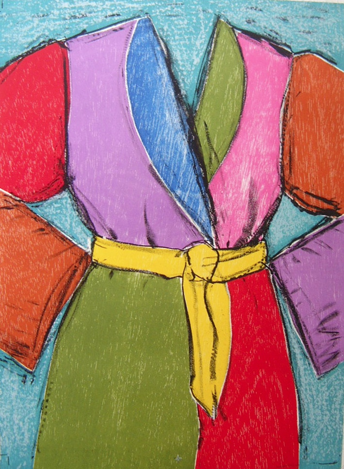 A Yellow Belt - Lithograph - 25.5 x 19.5 inches