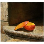 Carozon  Oil on canvas  19.75 x 21.75 inches