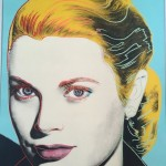 Grace Kelly - Silkscreen, 41 x 33 inches