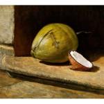 Intriga  Oil on canvas 21.25 x 25.5 inches