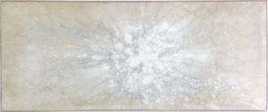 Kapnos Nebula III   Mixed media on glass   30 x 70 inches