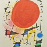 Lithographs of Miro 6 - Lithograph - 12.5 x 9.5 inches