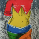 The Bather Venus - Lithograph and Wood Print