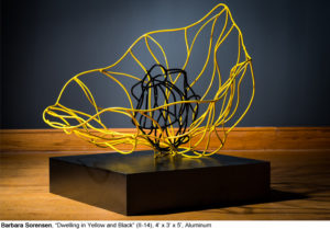 Dwelling in Yellow and BlackAluminum4' x 3' x 5'
