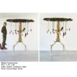 "Altered ConsciousnessAntler, Leather, Cardboard, Steel, Wool, Coconut Rope, Wood90.5"" x 70"" x 58"""