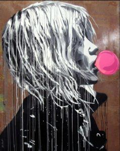 HIJ198 Bubble Gum Girl